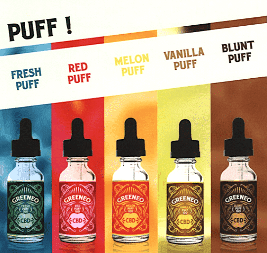 LE LAB SHOP - e liquide cbd Puff 1