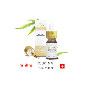LE LAB SHOP huile CBG 5% 10 ml chanvre