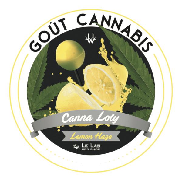 LE LAB SHOP - Sucette CBD Sucette Lemon Haze