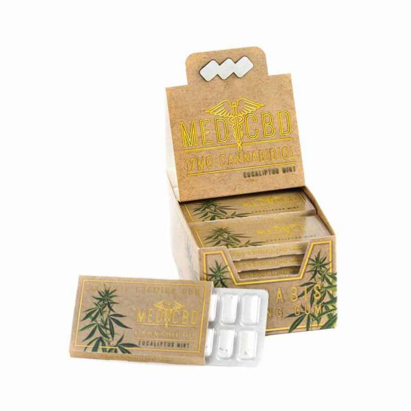 LE LAB SHOP -Chewing Gum au CBD medicbd eucalyptus 2