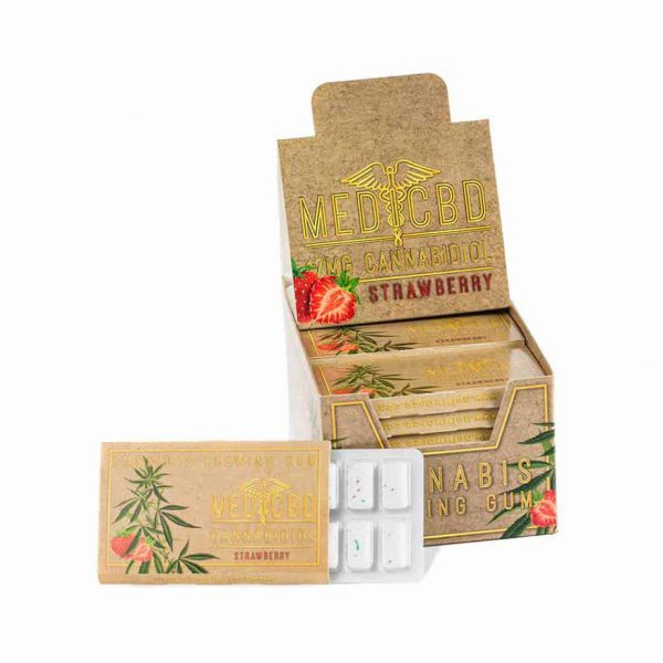LE LAB SHOP - Chewing Gum au CBD medicbd strawberry 2