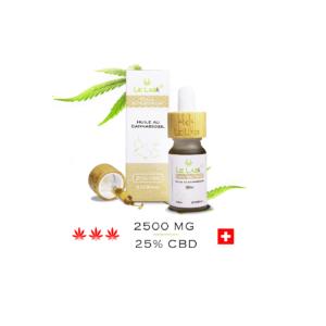 LE LAB SHOP huile CBD 25% 10 ml chanvre