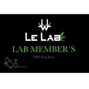 LE LAB SHOP - carte membre lelab