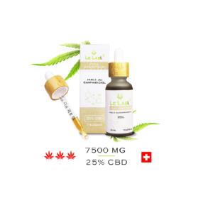 LE LAB SHOP huile CBD 25% 30 ml chanvre