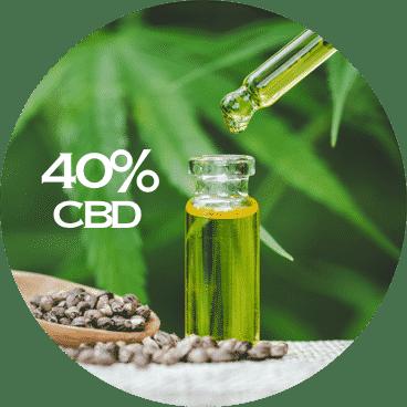 LE LAB SHOP huile CBD 40 pourcent