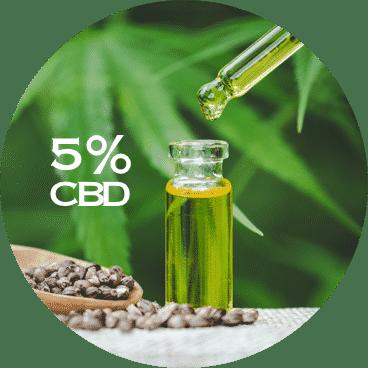 LE LAB SHOP huile CBD 5 pourcent